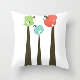 Three Witches Observe Throw Pillow