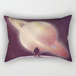 A View From Enceladus Rectangular Pillow