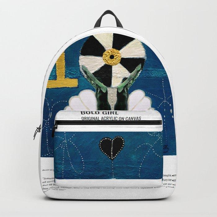 Bold Girl  / Art Stories Backpack