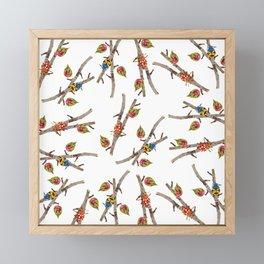 Bugs on Twigs Framed Mini Art Print