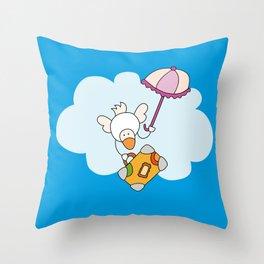 Flyin' away Throw Pillow