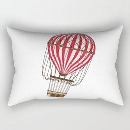 Retro Balloonist Ballooning Hot Air Balloon Pilot Gift Rectangular Pillow