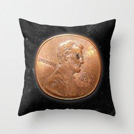 Coin Night Throw Pillow
