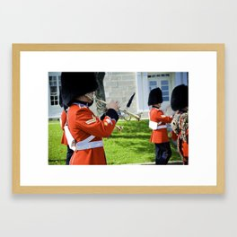 The Guard II Framed Art Print