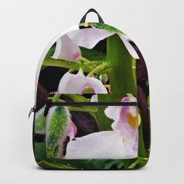 Sweet Peas In The Rain Backpack