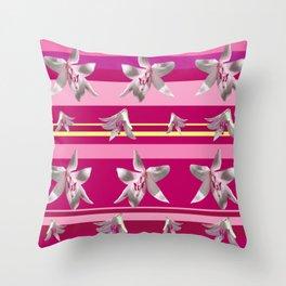 Floral Joy Throw Pillow