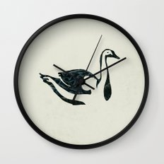 black swan song Wall Clock