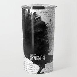 The Raven - E.A. Poe Travel Mug