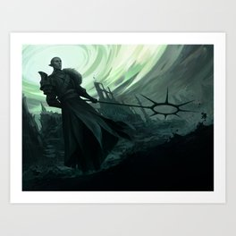 Sundered sky Art Print
