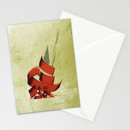 Arabic Calligraphy - Rumi - Another Form Stationery Cards