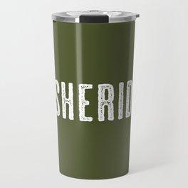 Deer: Sheridan, Wyoming Travel Mug