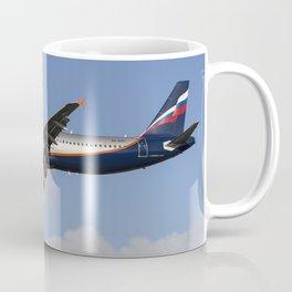 Aeroflot Airbus A321 Coffee Mug