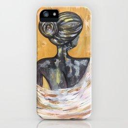 Lady with Tazerzit 1 iPhone Case