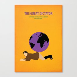 The great Dictator Canvas Print