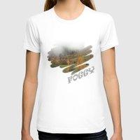 fog T-shirts featuring FOG by Avigur