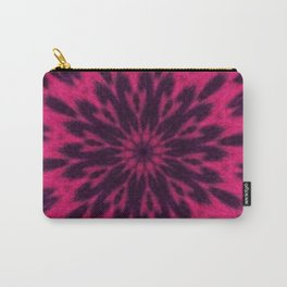 Pink Spotted Leopard Kaleidoscope Carry-All Pouch