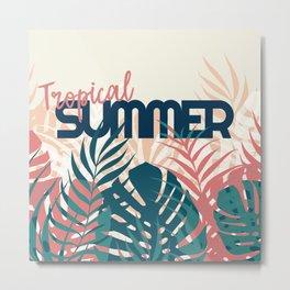 Tropical Summer #society6 #decor #buyart Metal Print