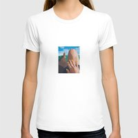 legs T-shirts featuring Legs  by Shelley Chandelier