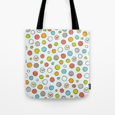 Another pattern with hearts. Tote Bag