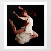 dancer Art Prints featuring Dancer by Vetii