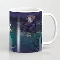 siren Mugs featuring Siren by Katie Badenhorst