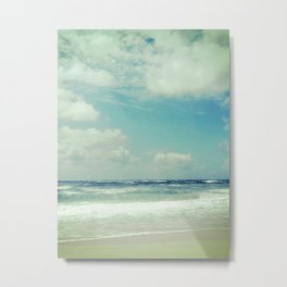 BEACH IN HARMONY I Metal Print