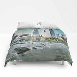 Surf City L.A. Comforters