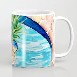 Chilling Pineapple Coffee Mug