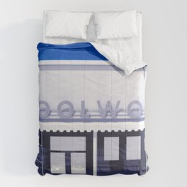 F.W. Woolworth All White Comforters