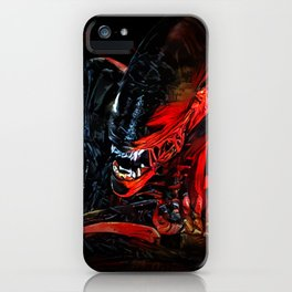 Blood Monster iPhone Case