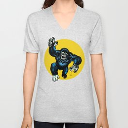The Rare and Elusive Kirbeast is coming to Dinner Unisex V-Neck