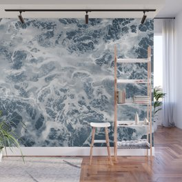 Pacific Ocean Waves Pattern Aerial Photography Wall Mural