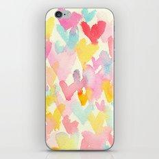 heart watercolor iPhone & iPod Skin