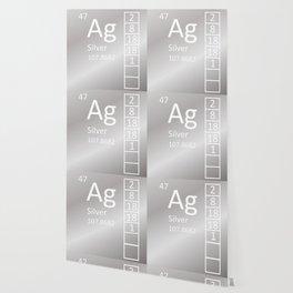 Heavy Metals - Silver Wallpaper
