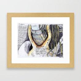 El atolladero Framed Art Print