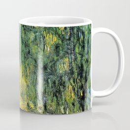 Weeping Willow by Claude Monet Coffee Mug