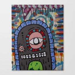 Couchmonsta Canvas Print