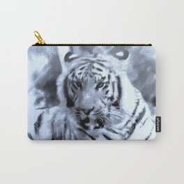 Animals and Art - Tiger Carry-All Pouch