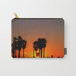Venice Beach Sunset Carry-All Pouch