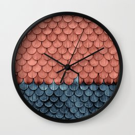 SHELTER / Little Boy Blue / Blooming Dahlia Wall Clock