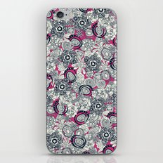 succulents pink indigo iPhone & iPod Skin