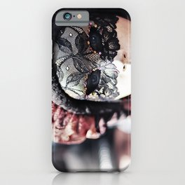 Italy Venice Mask 4 woman iPhone Case