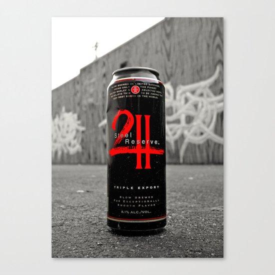 Urban malt liquor Canvas Print