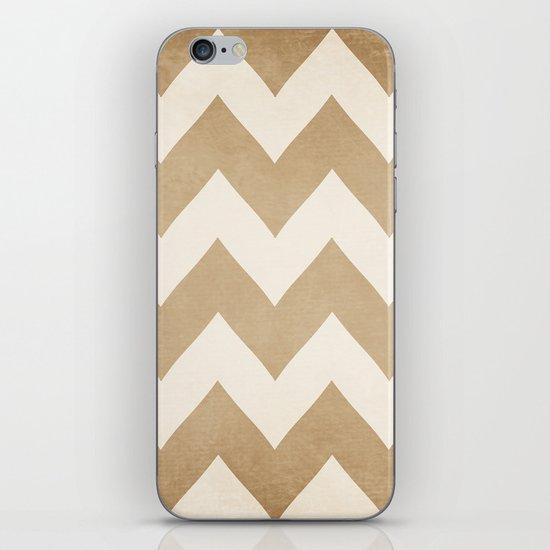 Biscotti & Vanilla - Beige Chevron iPhone & iPod Skin