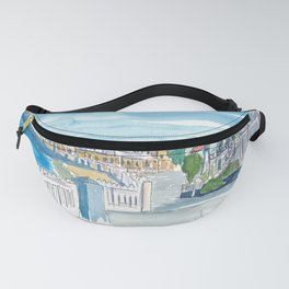Georgetown Grand Cayman Caribbean Waterfront Fanny Pack