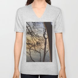 Prinzeninsel I – Just a Mirror for the Sun Unisex V-Neck