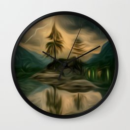 Power Of Nature Wall Clock
