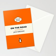 Penguin Book / On The Road - Jack Kerouac  Stationery Cards