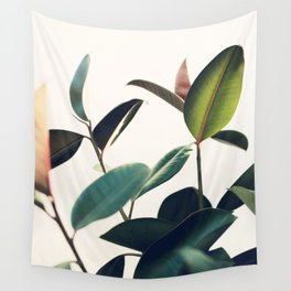 Ficus Elastica #8 Wall Tapestry