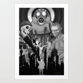 The Future of Tomorrow Today Art Print